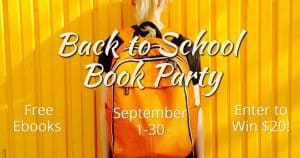 Back to school book party